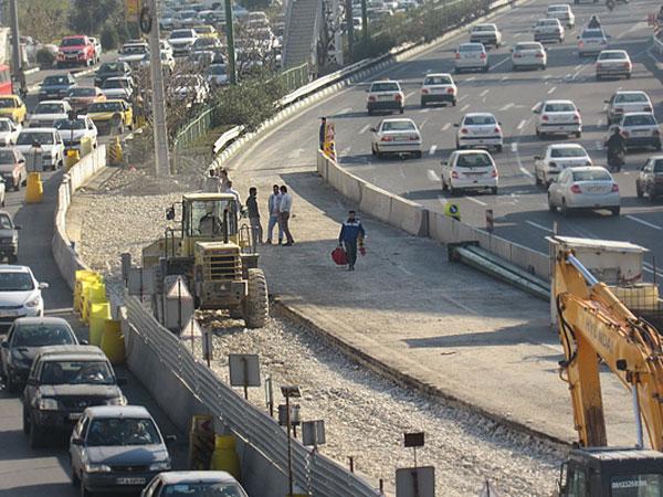 پیشرفت ۶۰ درصدی پروژه اجرایی احداث زیرگذرجنوب به جنوب بزرگراه یادگارامام(ره)