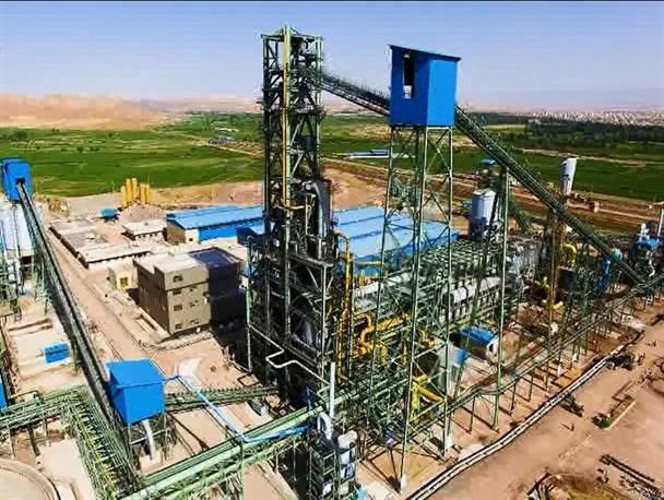 پروژه کارخانه تولید آهن اسفنجی فولاد میانه بزودی افتتاح میگردد