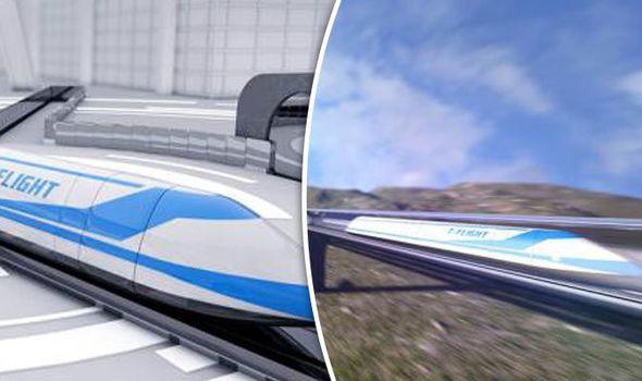 پروژه قطار پرنده چین بزودی اجرایی میشود