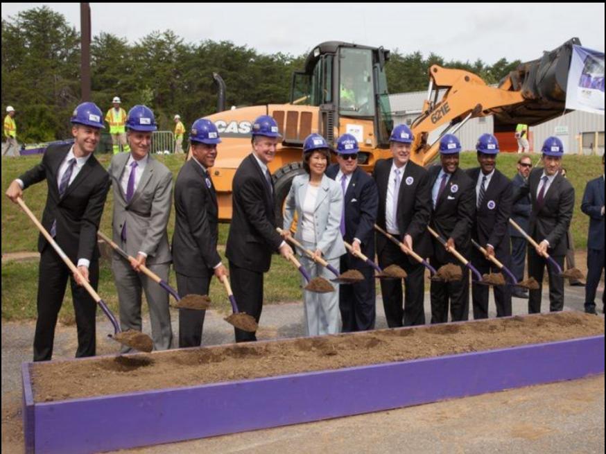 آغاز پروژه خط ریلی جدید در مریلند آمریکا