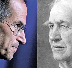 استیو جابز یا توماس ادیسون؟ کدامیک صاحب نفوذ و قدرت بیشتری بودند؟