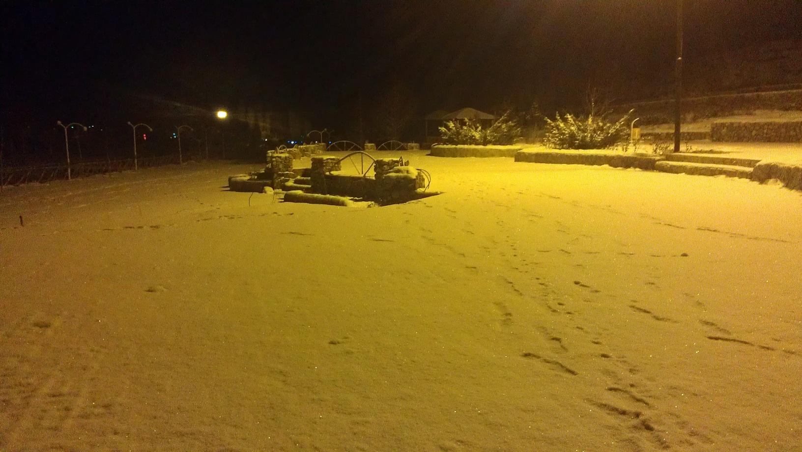 اولین برف زمستانی سال 93