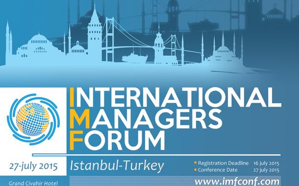 مجمع مدیران جهانی در استانبول ترکیه